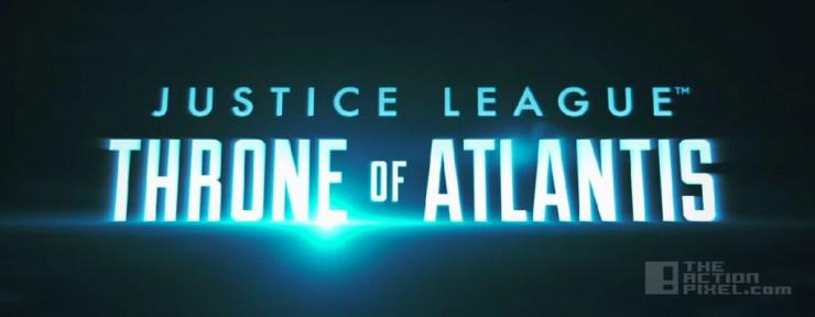 Justice League: throne of Atlantis. Dc comics. The Action Pixel. @TheActionPixel