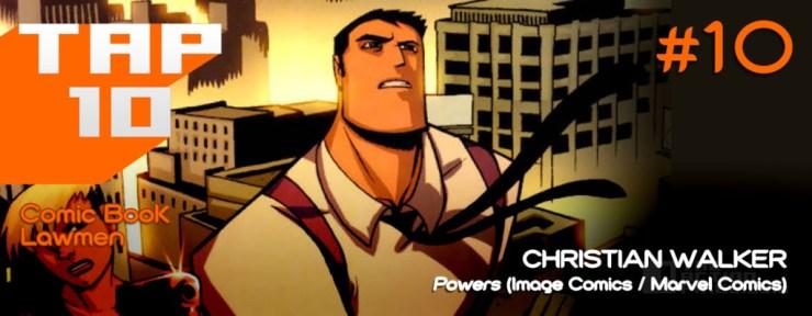 #Tap10 top 10 Comic Book Lawmen. The Action Pixel.  @theactionpixel
