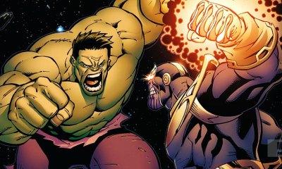 Thanos vs Hulk Banner. The Action pixel. @theactionpixel
