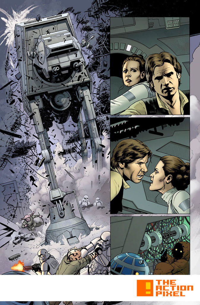 star wars #2, 1pg. The Action Pixel. @theactionpixel