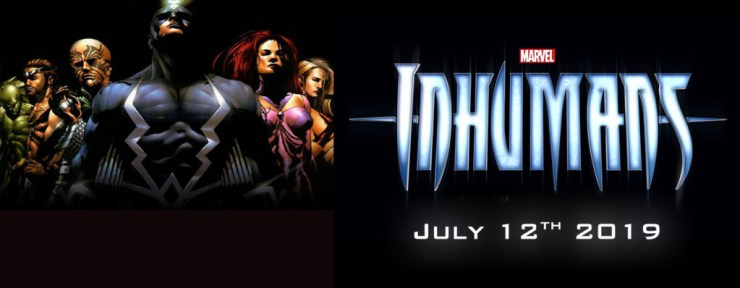 inhumans will premiere  July 12, 2019 not November 2, 2018. Marvel. the action pixel. @theactionpixel