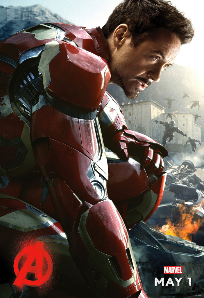 iron man poster. Avengers: age of ultron. the action pixel. @theactionpixel