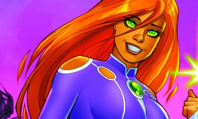 starfire banner post the new 52 comic titles. dc comics. the action pixel. @theactionpixel