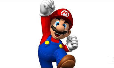 mario happy. the action pixel. @theactionpixel