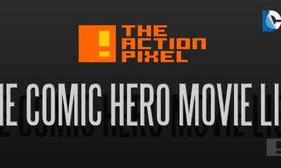 superhero comic movies LIST. marvel and dc comics. MCU the action pixel. @theactionpixel