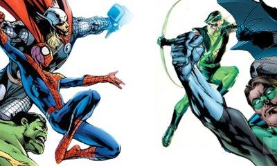 marvel vs DC. the action pixel. @theactionpixel