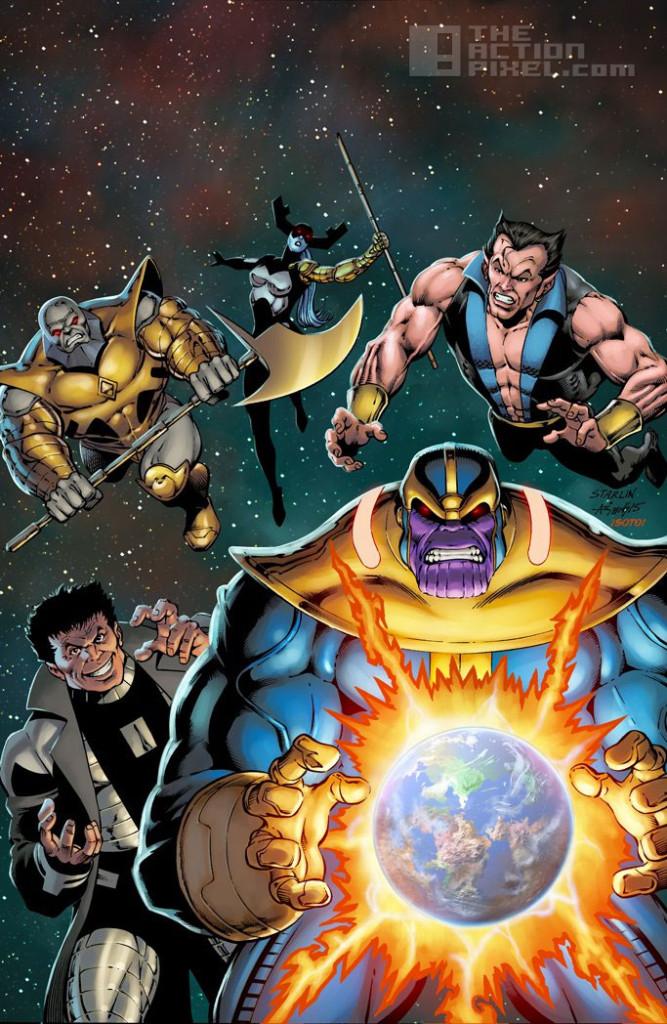 secret wars variant. jim starlin, secret wars #4. the action pixel @theactionpixel. marvel