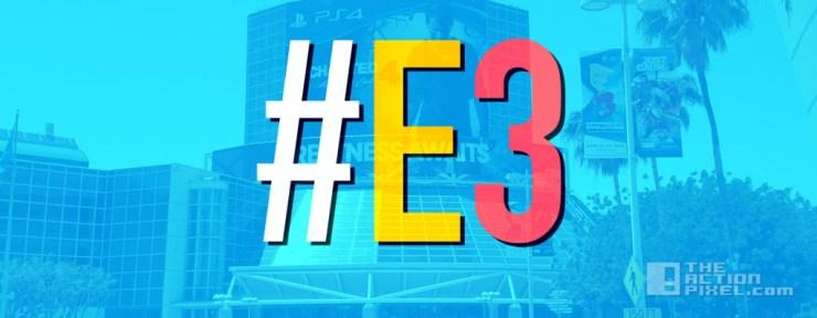 E3 Banner. the action pixel. @theactionpixel