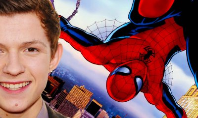 tom holland is Marvel + Sony Spider-man. the action pixel. @theactionpixel