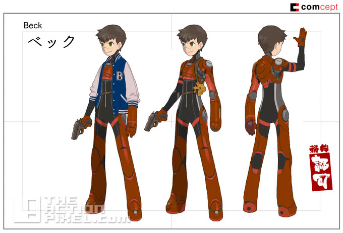 comcept_beck. red ash, the indelible hero. the action pixel. @theactionpixel