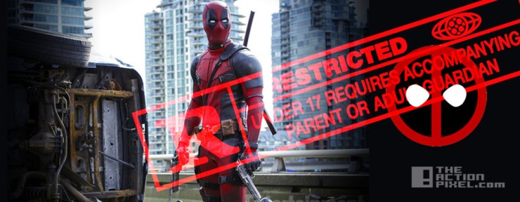deadpool Rated R. marvel. 20th century fox. the action pixel. @theactionpixel