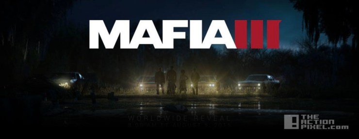 mafia 3. 2k games. the action pixel. @theactionpixel