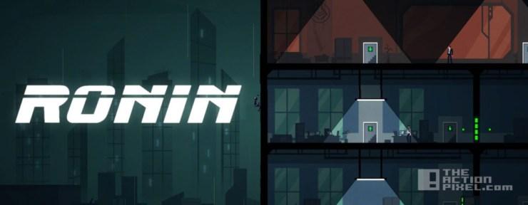 ronin. devolver digital. the action pixel. @theactionpixel