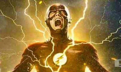 garry gustin. the flash season 2. promo poster. dc comics. the cw. the action pixel. @theactionpixel