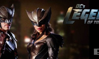 dc legends of tomorrow. hawkgirl halkman . cw. dc comics. the action pixel. @theactionpixel