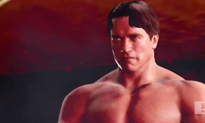 terminator. the action pixel. 2k games. wwe 2k16. @theactionpixel