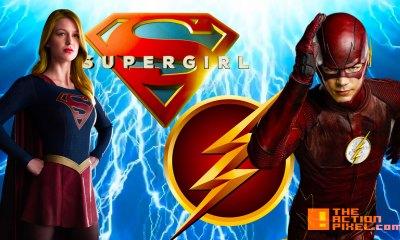 flash. supergirl. cw. cbs. the action pixel @theactionpixel