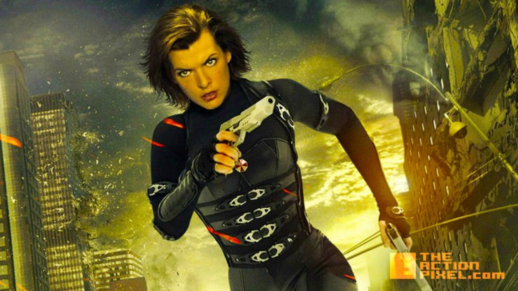 resident evil. milla jovovich. Alice. the action pixel. @theactionpixel