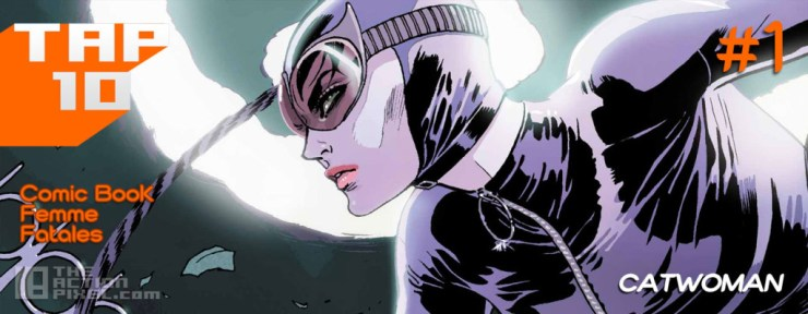 #tap10 comic book femme fatales. the action pixel. @theactionpixel