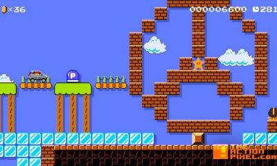 mercedes-benz gla. super Mario Maker. the action pixel. @theactionpixel