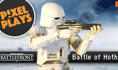 pixel plays. Star Wars Battlefront: battle of hoth. ea. dice games. the action pixel. @theactionpixel