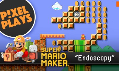 pixel plays. super mario makers endoscopy. the action pixel. @theactionpixel