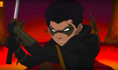 damian Justice League Vs Teen Titans. wb animation. dc comics. the action pixel. @theactionpixel