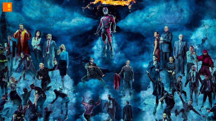 daredevil S2 poster. netflix. marvel. daredevil. the action pixel. entertainment on tap. @theactionpixel