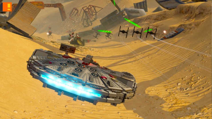 lego star wars: the force awakens. the action pixel. disney. lucasfilm. entertainment on tap. @theactionpixel. tt games