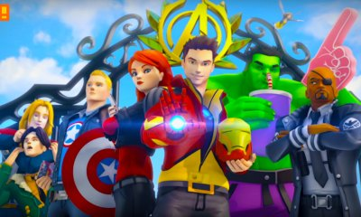 marvel avengers academy. the action pixel. marvel. tiny co. the action pixel. @theactionpixel