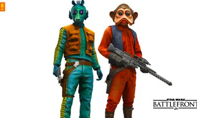 greedo. nien nunb. star wars battlefront. ea. dice. the action pixel. @theactionpixel