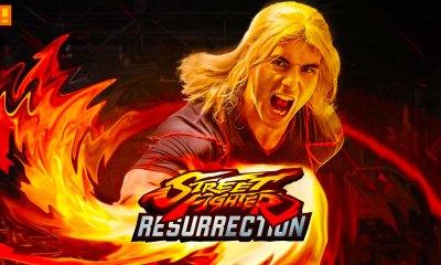 Street fighter resurrection. capcom. machinima. the action pixel. entertainment on tap.