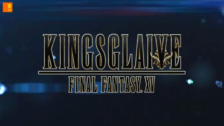 kingsglaive final fantasy XV. the action pixel. square enix. sony pictures entertainment. the action pixel. @theactionpixel