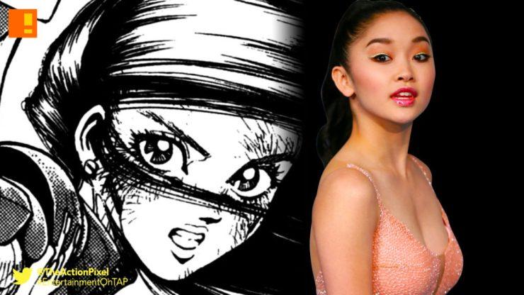battle angel alita, manga, anime, lana condor, live action adaptation, x-men, jubilee,