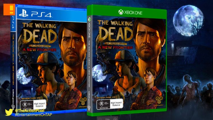 the walking dead, a new frontier, twd, the telltale series, entertainment on tap, the action pixel, release date, premiere , season 3, clementine, xbox, ps4, playstation, xbox one