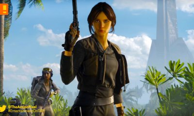 jyn erso, rogue one, scarif, battlefront, star wars, ea, electronic arts, dice games, ea dice, dlc, trailer, orson krennic,