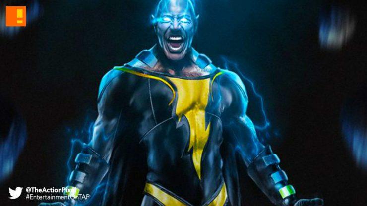 black adam,dc comics, captain marvel, shazam!, black adam, wb pictures, warner bros. warner bros. pictures, entertainment on tap, the action pixel, dwayne johnson, the rock,