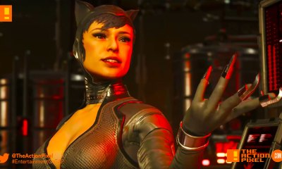 injustice 2, catwoman, selina kyle, netherrealm studios, dc comics, wb games, warner bros. games,warner bros games,warner bros. entertainment , warner bros entertainment, harley quinn, trailer, character trailer, batman,