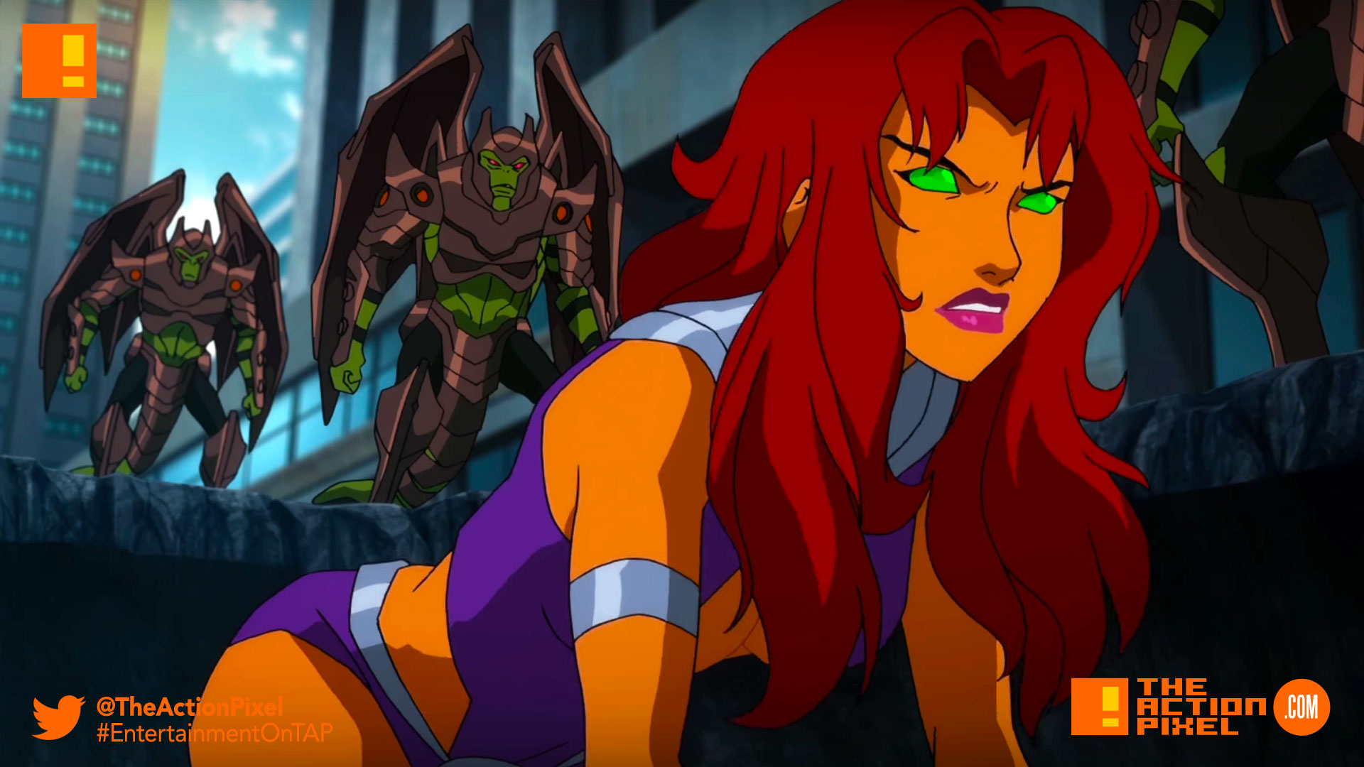 Starfire Gets A First Class Teen Titans Assist In New Teen Titans The Judas -3027
