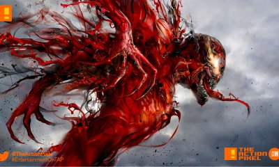 carnage, venom, marvel, marvel comics, sony pictures, sony, the action pixel, entertainment on tap,