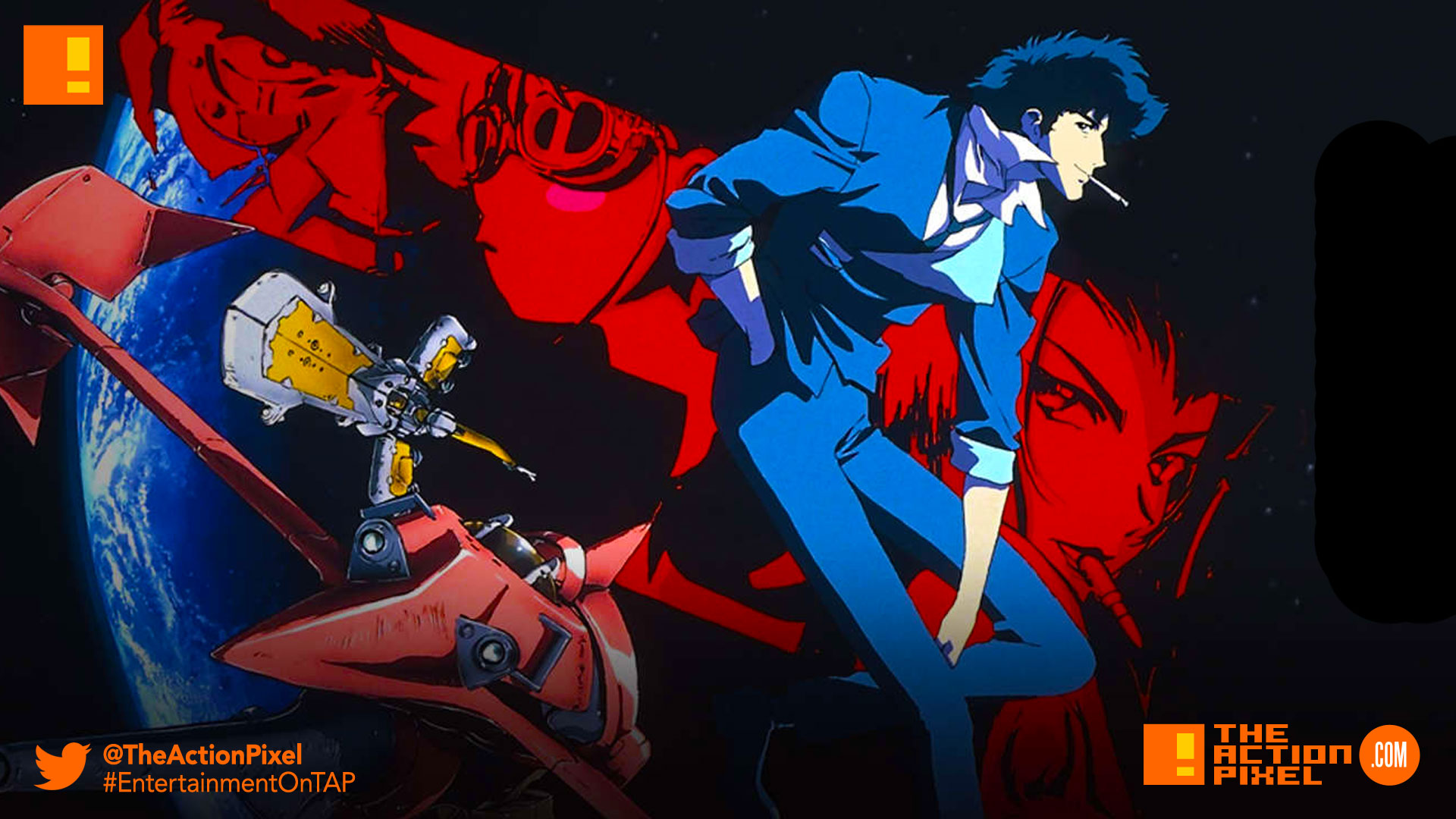 """Cowboy Bebop"""" is coming to Netflix as a live-action series"""