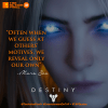 TAP Quotes, marasov,projection, quotes,quote, game quotes, destiny game, destiny, queen, the action pixel, entertainment on tap,