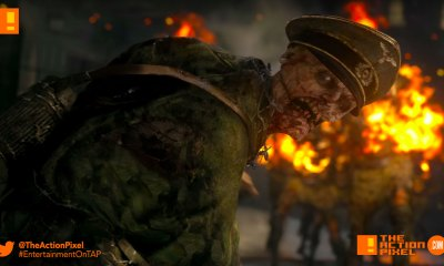 cod zombies, call of duty,call of duty: wwII, world war 2, world war ii , call of duty zombies, teaser, the action pixel, sledgehammer games, entertainment on tap, reveal trailer, trailer, nazi zombies,