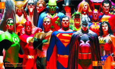 dc comics, batman, superman, flash, aquaman, martian, green arrow, plastic man, wonder woman