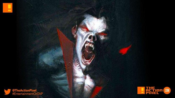 morbius, sony, marvel, spider-man, spider man, morbius the living vampire, vampire, plasma, blood, marvel comics, marvel entertainment,the action pixel, entertainment on tap,
