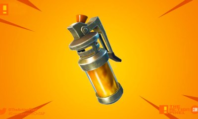 stink bomb, fortnite, the action pixel,entertainment on tap, v4.4, epic games