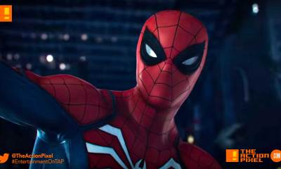 ps4, spider-man, marvel, marvel's spider-man,ps4,playstation 4, playstation, peter parker, demons, wilson fisk, fisk, king pin, gameplay trailer, e3 , e3 2017, electronic entertainment expo, marvel comics,the action pixel, entertainment on tap, insomniac games, e3 gameplay,sony e3,e3 2018, sdcc, the action pixel