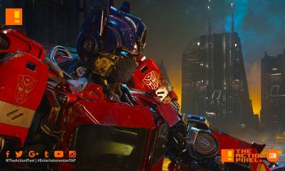 optimus prime, paramount, cybertron, transformers, the action pixel, autobots, cybertron, decepticons, entertainment on tap, the action pixel