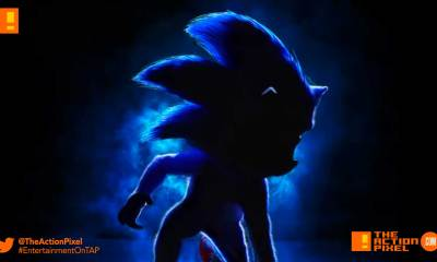 sonic the hedgehog, sonic, paramount pictures, the action pixel, entertainment on tap, poster,