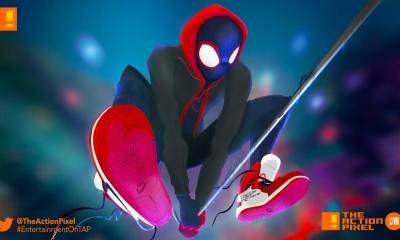 miles morales, spiderman, spider man, spider-man, sony, marvel, marvel comics, animated feature, animation, the action pixel, entertainment on tap,sony animation, marvel,into the spiderverse, spider-man: into the spider-verse,gwen stacey, clip, another dimension, sony animation, spider-women, spin-off, sequel